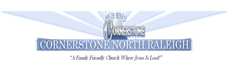 Cornerstone North Raleigh Mobile Logo